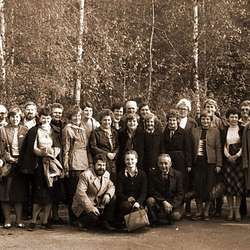 26-28.10.1984 harcerskie spotkanie pokoleń w Ślesinie