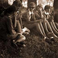 Zdjęcia z Kroniki Obozu Letniego Szczepu SP nr 1