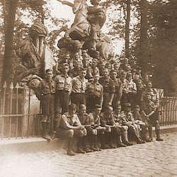 Zdjęcia drużyn harcerskich z Wrześni z lat 30-tych